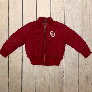 Colosseum Puffer Jacket Red Quilted Toddler 2T